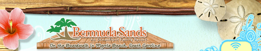 Myrtle Beach Hotels Bermuda Sands Hotel Sc Boardwalk